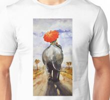 The Red umbrella Unisex T-Shirt