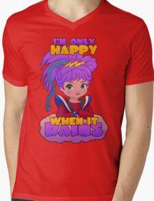 I'm Only Happy When it Rains Mens V-Neck T-Shirt