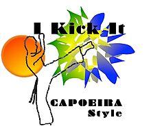 capoeira abada luanda martial arts Photographic Print