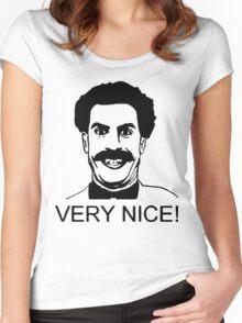 borat Women's Fitted Scoop T-Shirt