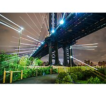 Warp Bridge Photographic Print