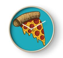 Pizza is LIFE Clock