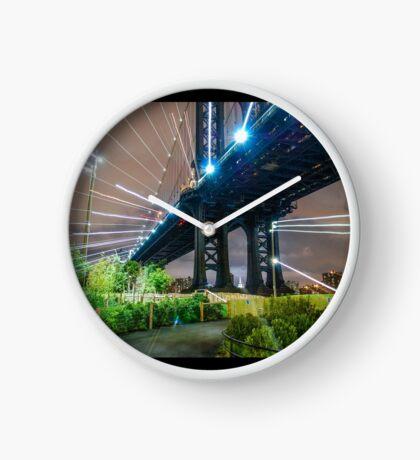 Warp Bridge Clock