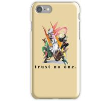 Silvally and Gladion           (1/3 ALOLAN GODS COLLECTION) iPhone Case/Skin