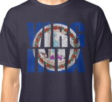 Virginia State Flag Stack Classic T-Shirt