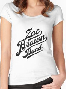 Zac Brown Band Logo Women's Fitted Scoop T-Shirt