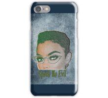 Speak No Evil Bella iPhone Case/Skin