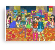 Harijuku Girls Canvas Print
