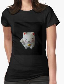 Maneki-neko Womens Fitted T-Shirt
