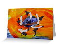 capoeira Greeting Card