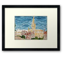 Norwich Cathedral From The Lower Close Framed Print