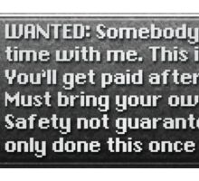 Safety Not Guaranteed New Game+ Sticker