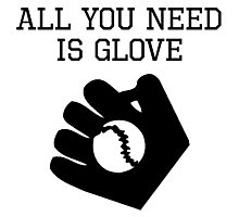 All You Need Is Glove Photographic Print