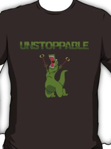 Unstopable T-rex T-Shirt