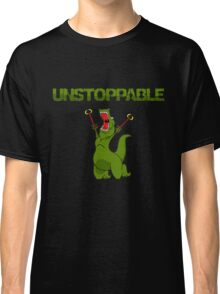 Unstopable T-rex Classic T-Shirt