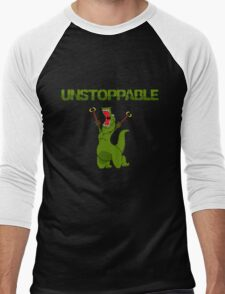 Unstopable T-rex Men's Baseball ¾ T-Shirt