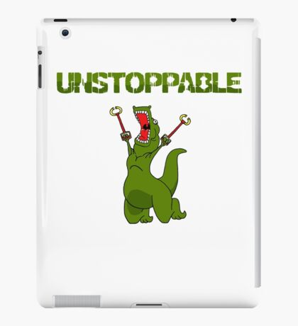 Unstopable T-rex iPad Case/Skin