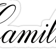 Hamilton Lottery  Sticker