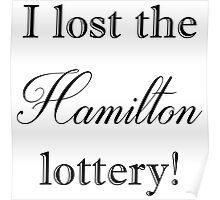 Hamilton Lottery  Poster