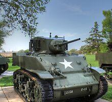M5 Stuart Light Tank by Jimmy Ostgard
