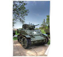 M5 Stuart Light Tank Poster