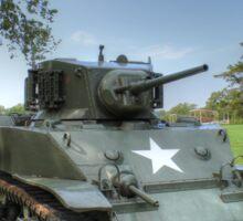 M5 Stuart Light Tank Sticker