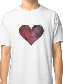 space heart Classic T-Shirt