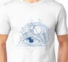 Ocean in the eye Unisex T-Shirt