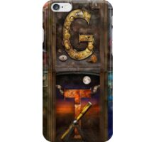 Steampunk -  Alphabet - Banner Version Complete iPhone Case/Skin