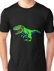 Cool Dinosaur - Pixels Unisex T-Shirt