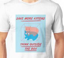 'Think Outside the Box' Unisex T-Shirt