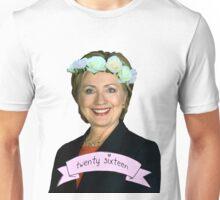 Hipster Hillary for President Unisex T-Shirt