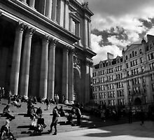 St. Paul's Cathedral, London. by Sarah Wigley