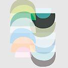Pastel Geometry 3 by Mareike Böhmer