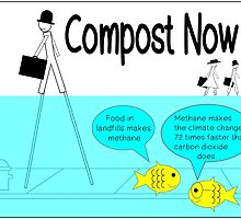 Compost now! by Rhona Mahony