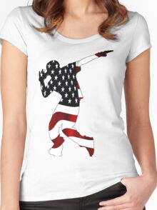 In The Flag Women's Fitted Scoop T-Shirt