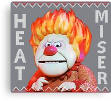 Heat Miser Ugly Sweater Canvas Print