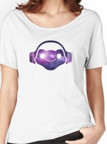 Lucio Logo - Galaxy Women's Relaxed Fit T-Shirt