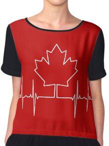 Canada Pulse Chiffon Top
