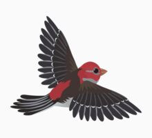 Flying House Finch Kids Clothes