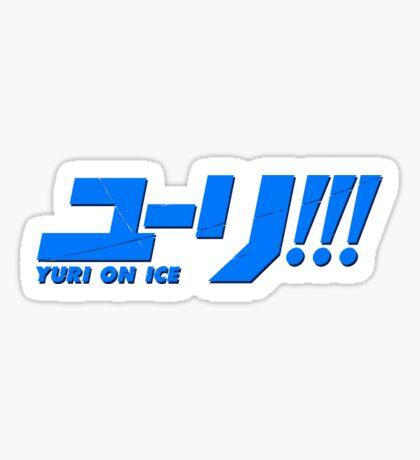 Yuri On Ice!!! - Logo Sticker