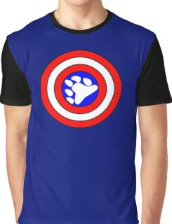 Captain Bearmerica Graphic T-Shirt