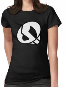 Team Skull Logo Womens Fitted T-Shirt