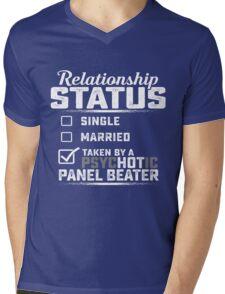 Panel Beater Relationship status  Mens V-Neck T-Shirt