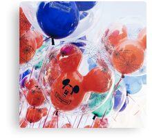 Disneyland balloons (non- HDR Metal Print