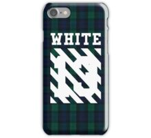 Off-White 13 (Green Flannel) iPhone Case/Skin