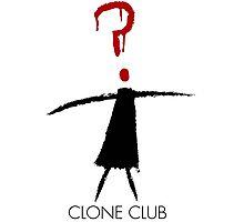 Clone Club Stick Figure Photographic Print