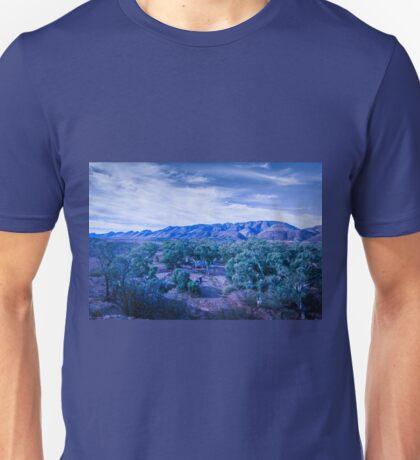 Blue Landscape Unisex T-Shirt