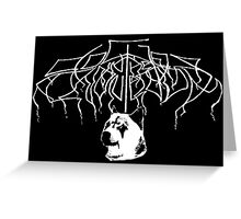 Doges in the Throne Room Greeting Card