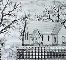 Oak Ridge Church by Jack G Brauer